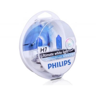 Philips H7 комплект синих ламп