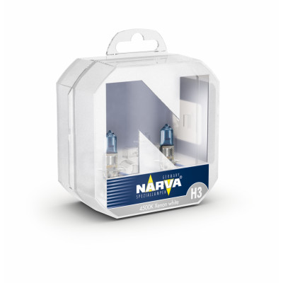 Narva h3 Range pover комплект синих ламп 55w 12v