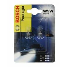 Лампа б/ц 5W5 12v 5w Bosch блистер 2шт
