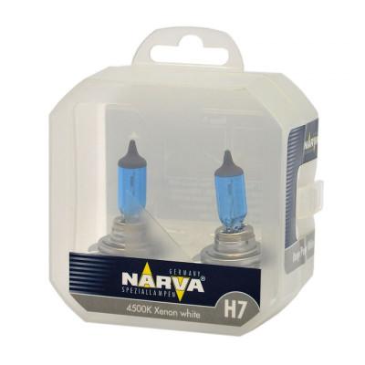 NARVA RANGE H7 комплект синих ламп