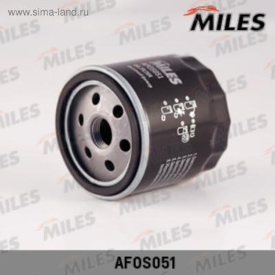 Фильтр масляный Miles Daewoo GM