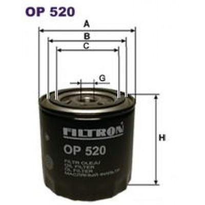 Масляный фильтр VAZ LADA 2108 FILTRON OP520